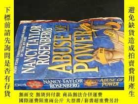 二手書博民逛書店ABUSE罕見OF POWERY5919 看圖 看圖