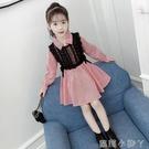 女童洋裝秋裝2020新款韓版春秋季童裝兒童長袖裙子女孩洋氣潮衣 蘿莉新品