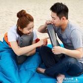 旅行枕頭-迪卡儂 戶外休閑露營 輕便旅行枕植絨充氣枕頭午睡枕QUNC 提拉米蘇