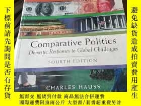 二手書博民逛書店Comparative罕見Politics:Domestic Responses to Global Challe