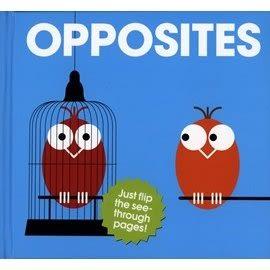 【Patrick George透明膠片書 】OPPOSITES...《主題: 基礎學習/對比》