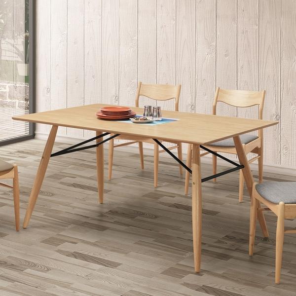 OB004-伯明罕本色5尺餐桌(19HY2/B451-01)【DD House】