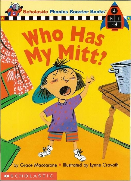(二手書)Phonics Booster Books 04: Who Has My Mitt?