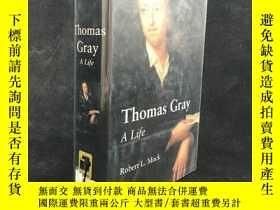 二手書博民逛書店2000年罕見Thomas Gray: A Life by Mr