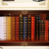擺件 歐式復古裝飾品擺設品仿真書假書裝飾書客廳創意道具書盒 - 古梵希
