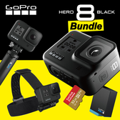 【限量組合】HERO 8 假日組合 四件式 套組 套餐 防水 運動 相機 攝影機 GOPRO 4K 台閔公司貨 屮S4