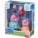 《 Peppa Pig 》溫馨家庭公仔4入╭★ JOYBUS玩具百貨