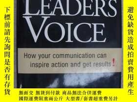 二手書博民逛書店The罕見leader s voice:how your com