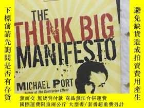 二手書博民逛書店THE罕見THINK BIG MANIFESTO、Y20897 出版2008