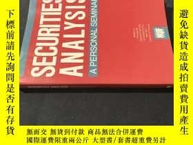 二手書博民逛書店Securities罕見analysisY258675