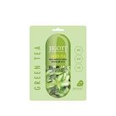 JIGOTT鎖水保濕安瓶面膜#綠茶-抗氧化 27ml 10片入