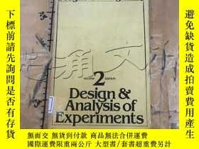 二手書博民逛書店Design罕見& Analysis of Experiment