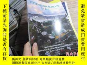 二手書博民逛書店state罕見of the climate in 2013 80