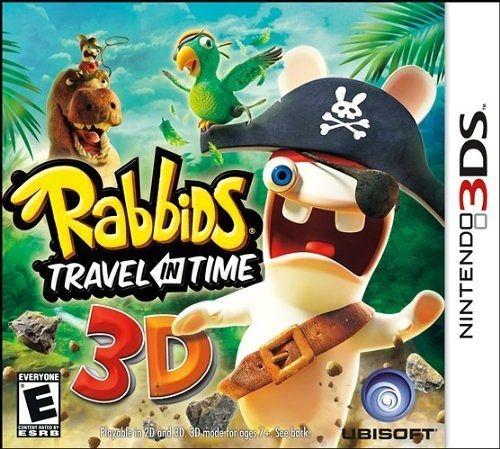3DS Rabbids Travel in Time 瘋狂兔子:時光旅行(美版代購)