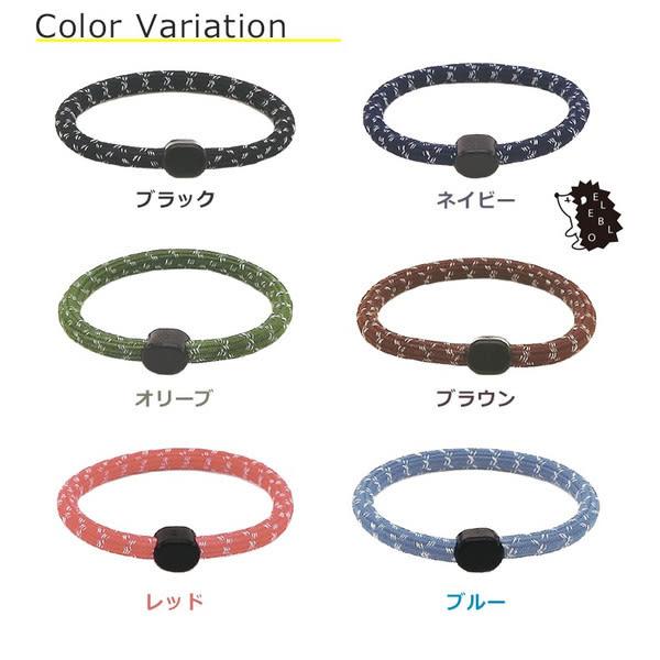 【杰妞】日本製 ELEBLO 防靜電手環抗靜電 手鍊 運動風格~男性很適合喔 17.5cm