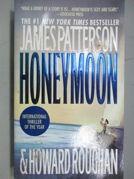 【書寶二手書T5/原文小說_FR1】Honeymoon_James Patterson&Howard Rougham
