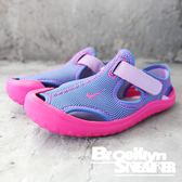 NIKE SUNRAY PROTECT (PS) 紫粉 涼鞋 中童 (布魯克林) 903633-500