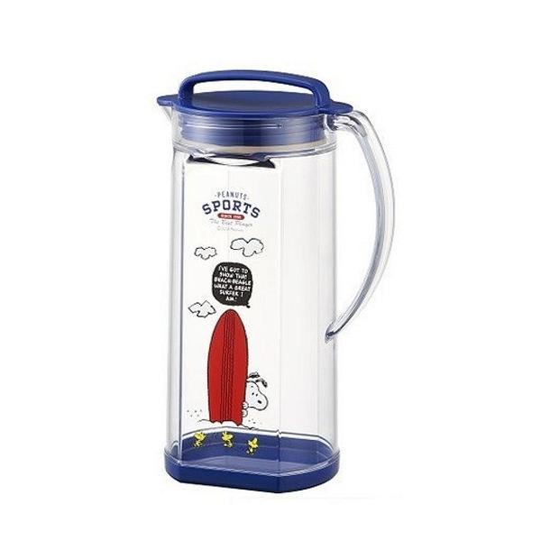 【震撼精品百貨】史奴比_Peanuts SNOOPY~史努比 SNOOPY 塑膠冷水壺(1.2L)#12130