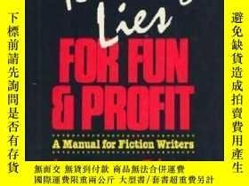 二手書博民逛書店Telling罕見Lies For Fun And ProfitY307751 Lawrence Block