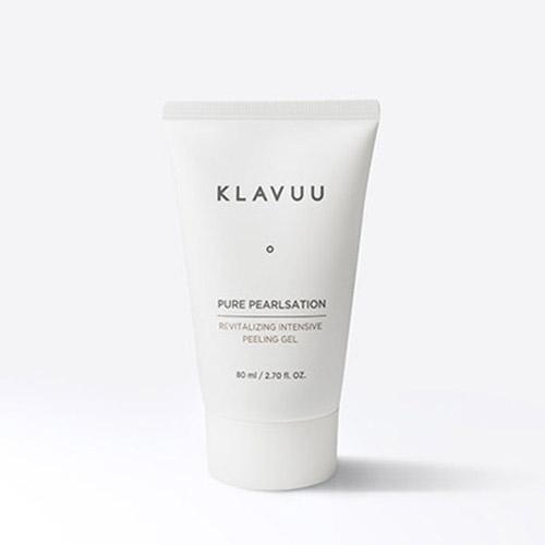 韓國 KLAVUU 純淨珍珠賦活去角質凝膠 80ml【新高橋藥妝】效期:2021.05.11