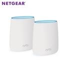 《NETGEAR》Orbi Micro AC2200 高效能三頻Mesh WiFi延伸系統-RBK20