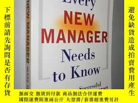 二手書博民逛書店What罕見Every New Manager Needs to