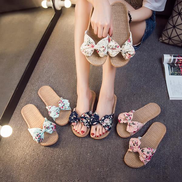 亞麻拖鞋女夏居家室內防滑夏季家居情侶軟底辦公室涼拖鞋家用