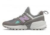 New Balance 女款灰 粉紫復古休閒鞋-NO.WS574PRC