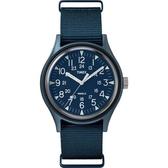 TIMEX 天美時 (TXTW2R37300) 手錶 藍/40mm