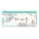 迪士尼扁形筆袋-小飛象 馬戲團 氣球 鉛筆盒 收納袋 透明 / DPCC-5104【金玉堂文具】1160