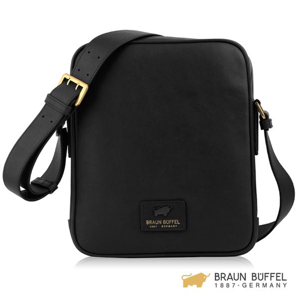 【BRAUN BUFFEL】RAZNOR 雷諾系列斜背包 - 黑色 BF343-17-BK