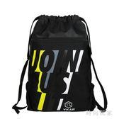 足球袋足球包訓練包兒童簡易書包束口袋抽繩雙肩包運動健身包OB1536『時尚玩家』