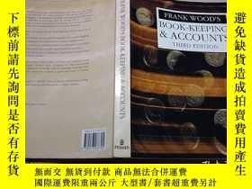 二手書博民逛書店frank罕見wood s book keeping accou
