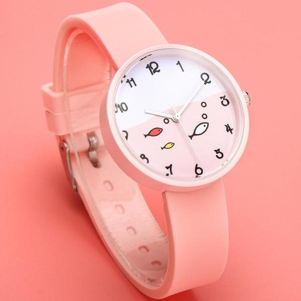 手錶-女士手錶防水時尚新款韓版潮流休閒大氣學生兒童手錶大童可愛 依夏嚴選