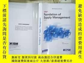 二手書博民逛書店Foundation罕見of Supply Management