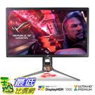 [8美國直購] 顯示器 Asus ROG Swift PG27UQ 27吋 Gaming Monitor 4K UHD 144Hz DP HDMI G-SYNC HDR Aura Sync with Eye Care