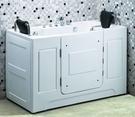 【麗室衛浴】 孝親缸 / 步入式浴缸 適合家中長輩及行動不便人士 LS-T118 1515*740*H970mm