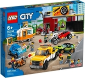 【LEGO樂高】CITY 賽車改裝廠 #60258