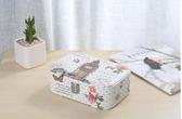 高檔多層帶鎖首飾盒韓國便攜公主首飾品收納盒歐式絨布化妝盒子 歐亞時尚
