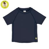 德國lassig-嬰幼兒抗UV短袖泳裝上衣-深軍藍