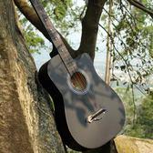 38寸吉他民謠初學者41寸木吉他學生男女新手初學入門練習樂器WY 限時八五折 鉅惠兩天