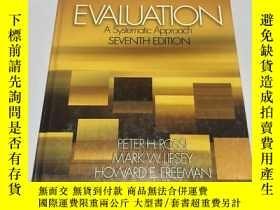 二手書博民逛書店evaluation罕見a systematic approach(評估系統方法)Y237539 Sage