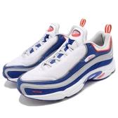 Reebok 復古慢跑鞋 Daytona DMX 老爹鞋 白 藍 男鞋 運動鞋【PUMP306】 CN6033