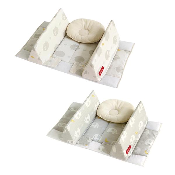 日本 farska 貼身防翻枕床中床(防護型-附頭枕)(兩款可選)60X35X13