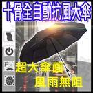 -十骨自動傘-商務傘 開收雨傘 折疊傘 遮陽傘 晴雨傘 超大傘面