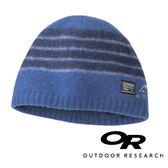 【OR 美國】Outdoor Research Route條紋保暖羊毛帽『墨藍』244847 登山.露營.休閒.戶外.保暖帽.帽子