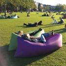 充氣沙發網紅椅子便攜式沖汽沙發春游必備懶人氣球床充氣午睡神器