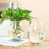 水培植物玻璃瓶 綠蘿花瓶花盆玻璃圓球水養魚缸器皿容器 NMS造物空間