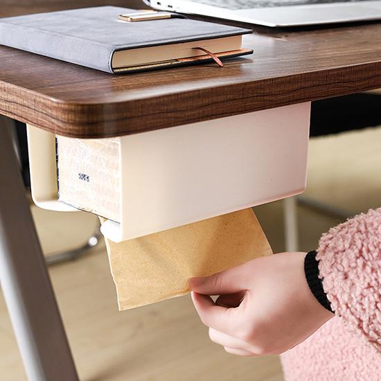 紙巾架 抽紙盒 掛壁式 面紙盒 衛生紙架 收納架 整理盒 抽取式 無痕貼面紙盒【J142】米菈生活館