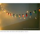 [韓風童品] (聖誕節LED暖光燈+毛氈布彩燈掛飾 )  節慶佈置掛飾    圣誕樹裝飾掛飾